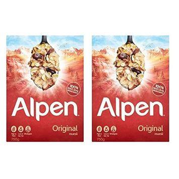 Alpen Original Muesli (750g) Pack of 2