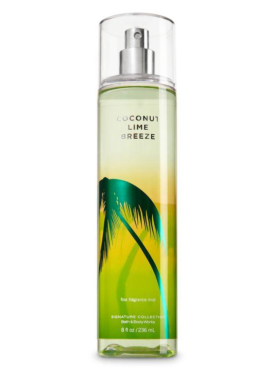 Bath & Body Works Coconut Lime Breeze Fine Fragrance Mist