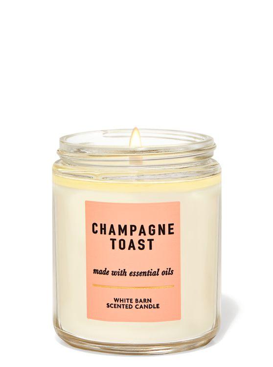 Bath & Body Works Champagne Toast Single Wick Candle