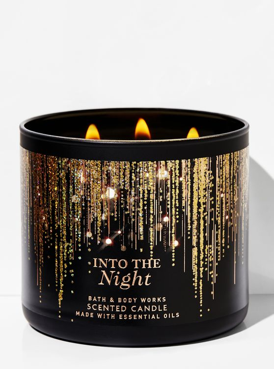 Bath & Body Works Into the Night 3-Wick Candle
