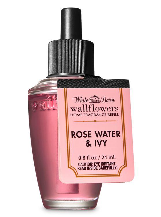 White Barn Rose Water & Ivy Wallflowers Fragrance Refill