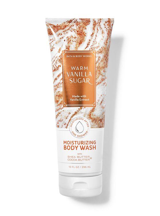 Bath & Body Works Warm Vanilla Sugar Moisturizing Body Wash