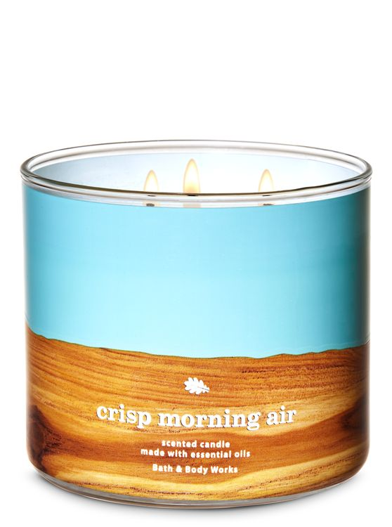 Bath & Body Works Crisp Morning Air 3-Wick Candle