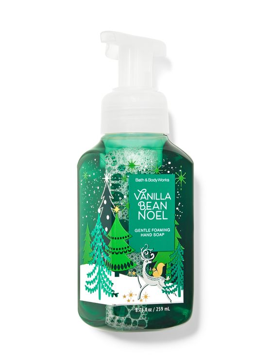 Bath & Body Works Vanilla Bean Noel Gentle Foaming Hand Soap