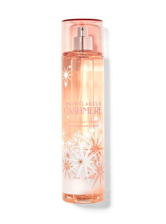 Bath & Body Works Snowflakes & Cashmere Fine Fragrance Mist