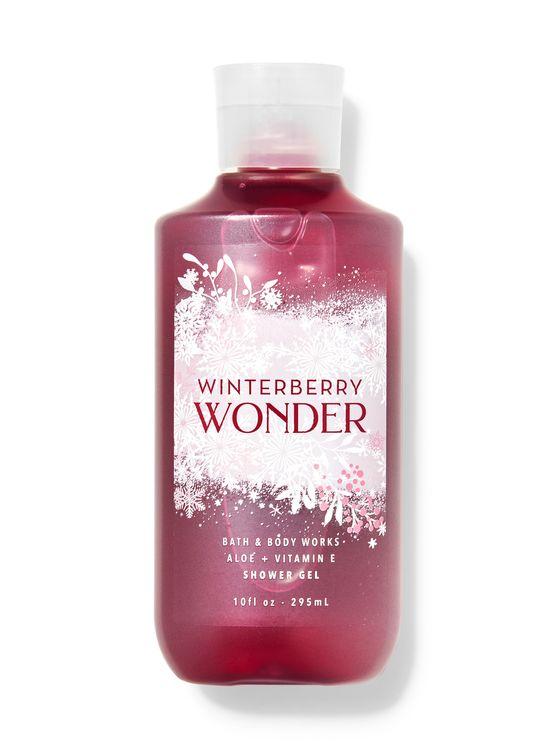 Bath & Body Works Winterberry Wonder Shower Gel