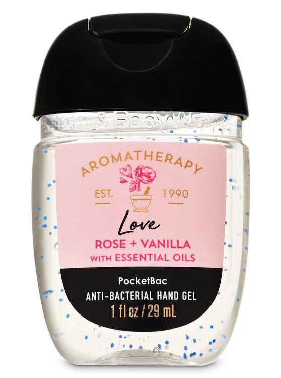 Bath & Body Works Rose Vanilla PocketBac Hand Sanitizer