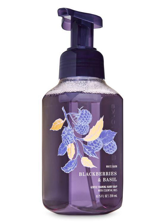Bath & Body Works Blackberries & Basil Gentle Foaming Hand Soap