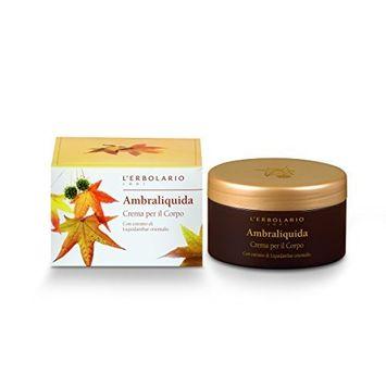 Ambraliquida (Liquid Amber) Perfumed Body Cream by L'Erbolario Lodi