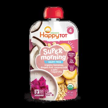 Happy Tot® Organics Super Morning Dairy Free Bananas, Dragon Fruit, Coconut Milk & Oats + Super Chia