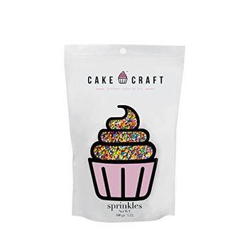 Cake Craft - Sprinkles - Rainbow Nonpareils - 100g Bag – For Cake Decorating