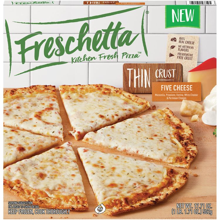 Freschetta Thin Crust Five Cheese