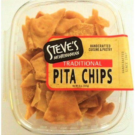Steve's Mediterranean Chef Plain Pita Chips