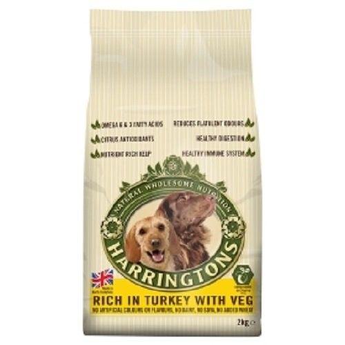 Harringtons Turkey & Veg Complete Dry Adult Dog Food 2KG
