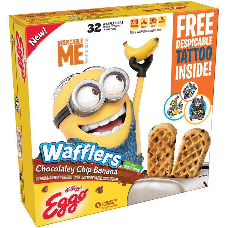 Kellogg's® Eggo® Wafflers® Chocolatey Chip Banana Waffles