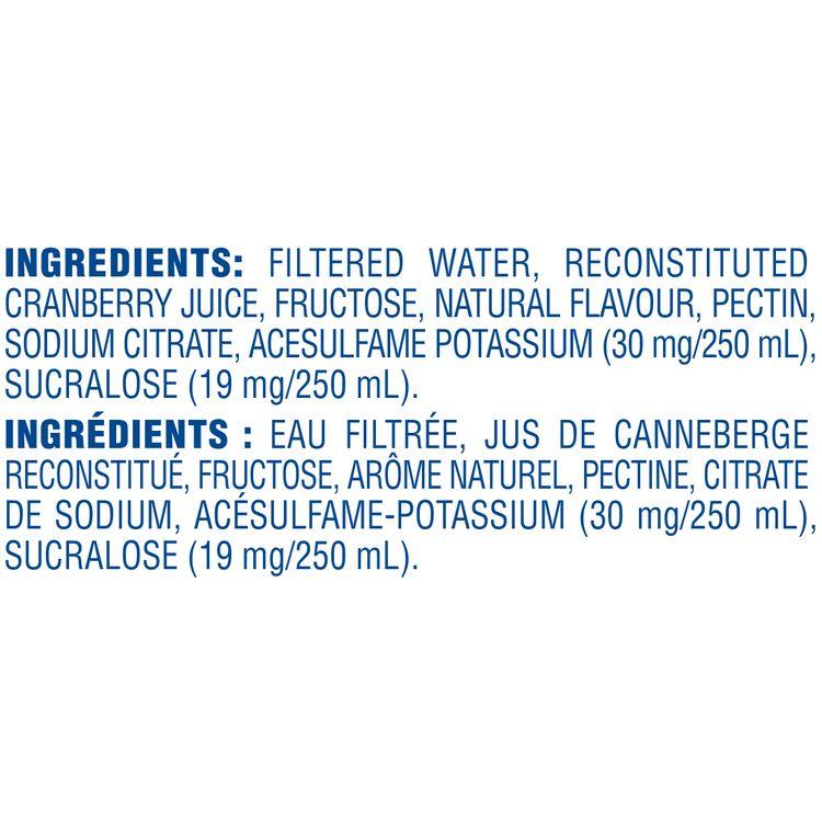 Ocean Spray Low Calorie Cranberry Cocktail
