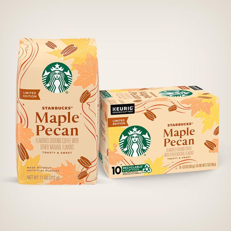 Starbucks Maple Pecan Flavored Coffee