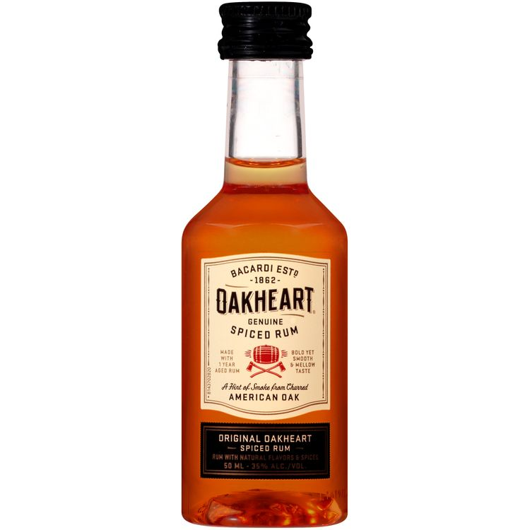 Bacardi® Oakheart® Original Genuine Spiced Rum 50mL