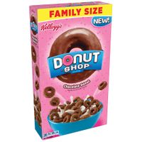 Kelloggs® Donut Shop Chocolate Donut Cereal