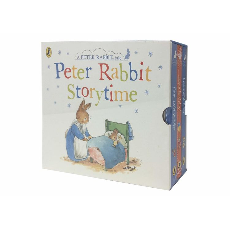 Peter Rabbit Story Time 3 Books Collection Box Set Childrens Classic Set