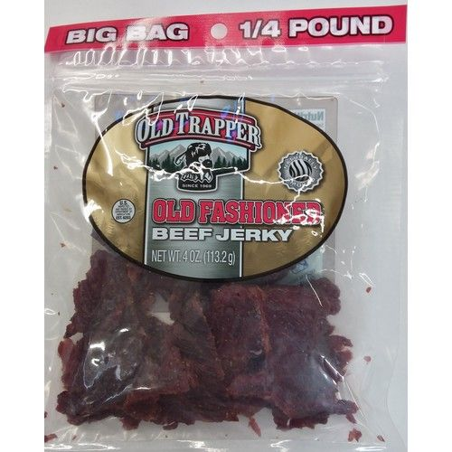 Trapper Old Fashioned Beef Jerky 4 oz. Bag