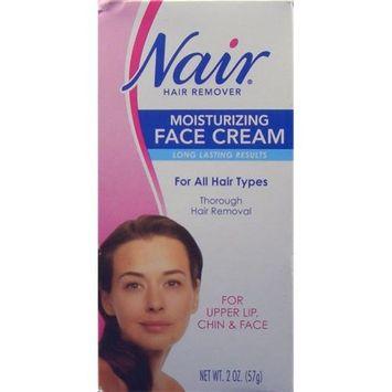 Nair Moisturizing Face Cream Hair Remover, 2 oz Help (6 Pack)