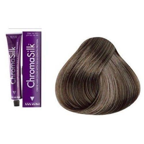 ChromaSilk Creme Hair Color 7Aa 7.11 Intense Ash Blonde 3 oz