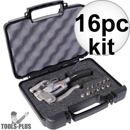 Roper Whitney 5JR 16pc Whitney Punch Complete Kit 7 sizes