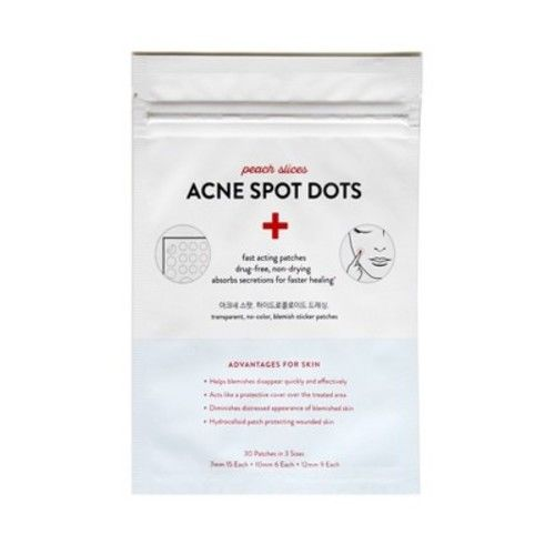 peach slices Acne Spot Dots Facial Treatment - 30 Patches