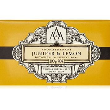 AAA Aromatherapy Juniper & Lemon Triple Milled Soap 200g / 7oz