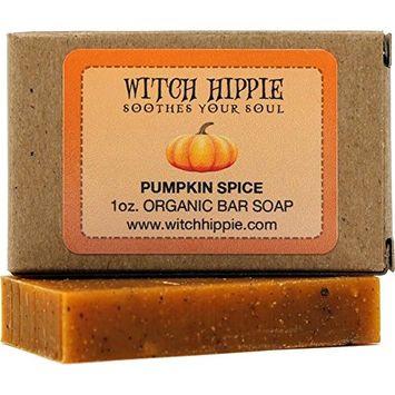 Pumpkin Spice 1oz Organic Bar Soap by Witch Hippie
