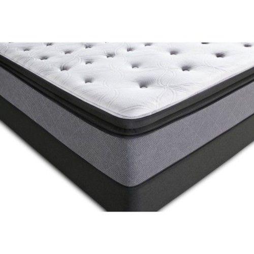Sealy Posturepedic Plush Euro Pillowtop Chalone Mattress, Multiple Sizes