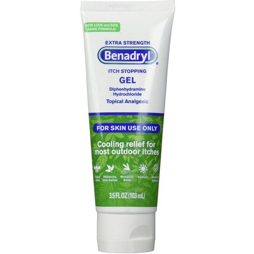 Benadryl Extra Strength Itch Stopping Gel 3.5 oz [number_of_pieces: number_of_pieces-1]