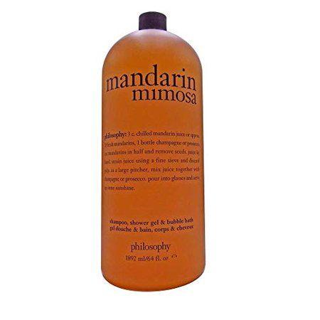 Philosophy Shampoo, Shower Gel, Bubble Bath (64 fl. oz. Mandarin Mimosa)