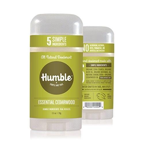 Humble Essential Cedarwood All Natural Deodorant