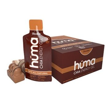 FOOD HUMA CHIA ENERGY GEL CHOCOLATE BXof24