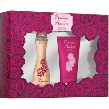 Women's Touch of Seduction by Christina Aguilera Fragrance Gift Set 2 pc