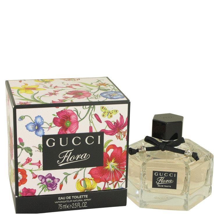 Gucci Flora by Gucci Eau De Toilette Spray 2.5 oz (Women) 75ml