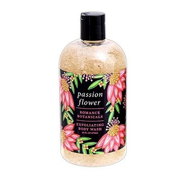 Greenwich Bay 16 Ounce Romance Botanicals Exfoliating Body Wash - Passion Flower [Passion Flower]