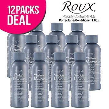(12 PACK) Roux Porosity Control Ph 4.5 Corrector & Conditioner 1.6oz : Beauty