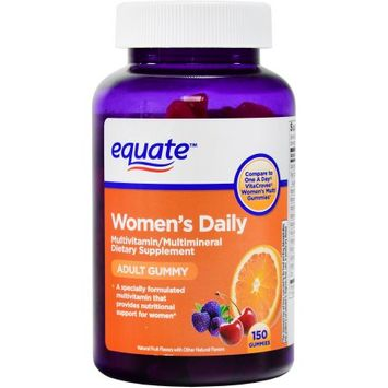 Equate One Daily Womens Adult Gummy 150 ct