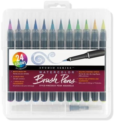 Studio Series Watercolor Brush Pens