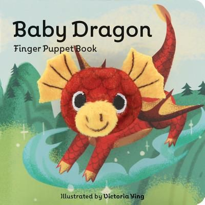 Baby Dragon Finger Puppet Book - Brdbk (Finger Puppet Boardbooks) (Hardcover)