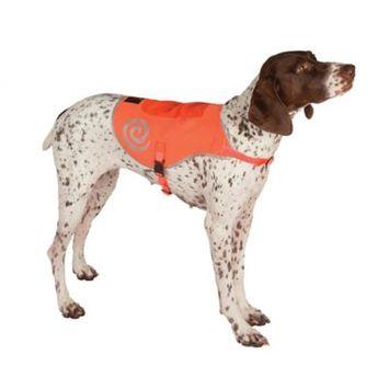 Ultra Paws Reflective Safety Vest - Medium, Neon Orange