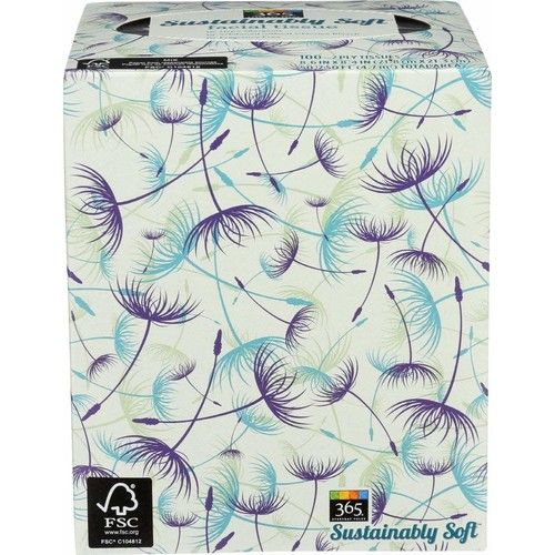 365 Everyday Value, Sustainably Soft Facial Tissue, 100 ct