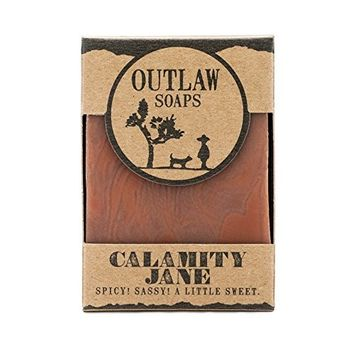 Calamity Jane Spicy Soap - Inspired by the legend - 2 pack - A handmade clove and orange soap to honor a spicy legend of the Wild West - Men's or Women's Soap