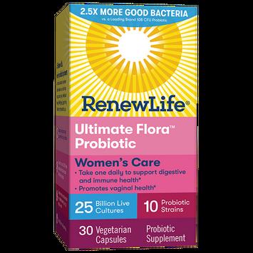 Renew Life Ultimate Flora Women's Care Probiotic 25 Billion