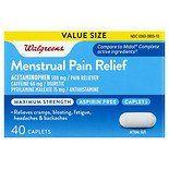 Walgreens Maximum Strength Menstrual Relief Caplets