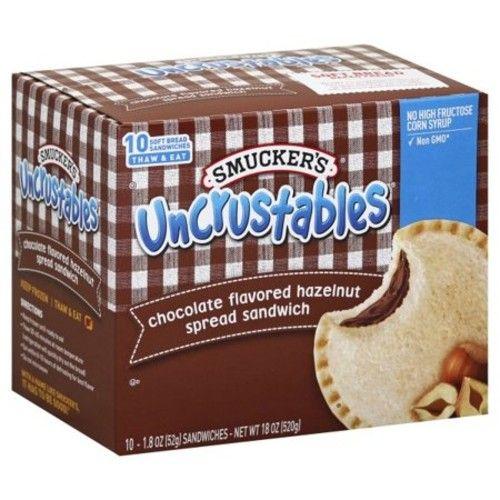 Smuckers Uncrustables Chocolate Flavored Hazelnut Spread