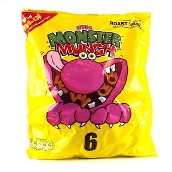 Monster Munch Roast Beef 6 Pack 150g